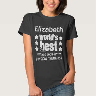 World's Best PHYSICAL THERAPIST with Stars T-shirt