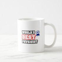 World's Best Physicist Classic White Coffee Mug
