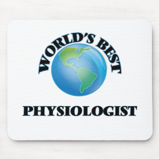 World's Best Physiologist Mouse Pads