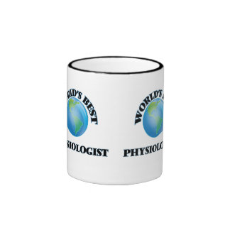 World's Best Physiologist Ringer Coffee Mug