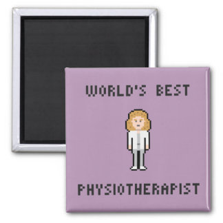 World's Best Physiotherapist Magnet