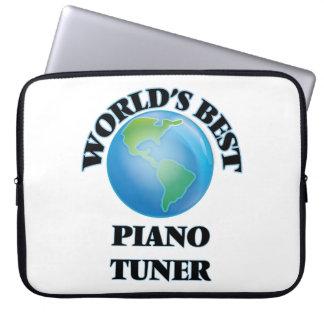 World's Best Piano Tuner Laptop Sleeve