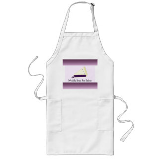 World's Best Pie Baker Long Apron