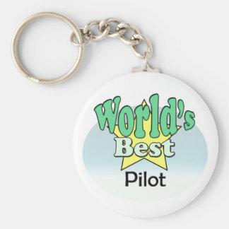 World's best pilot keychain