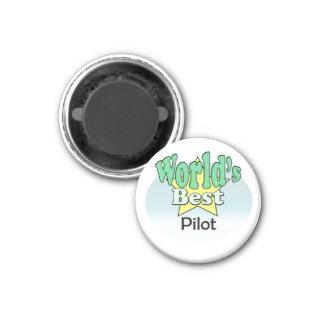 World's best pilot 1 inch round magnet