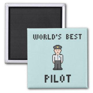 World's Best Pilot Magnet