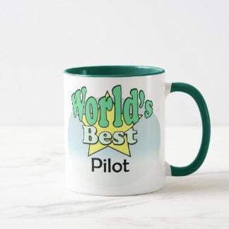 World's best pilot mug