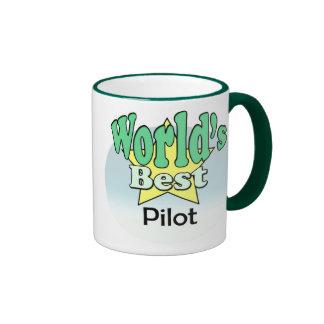 World's best pilot mugs