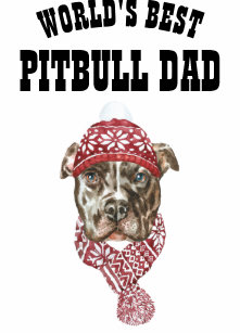 60715ee0 Worlds Best PITBULL DAD Mug - Fun Dog Father Gift Glass