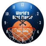 World's Best Player (Basketball) - Wall Clock