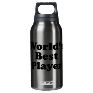 World's Best Player Insulated Water Bottle