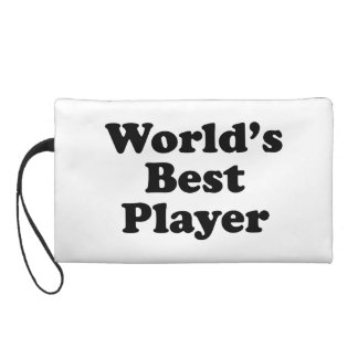 World's Best Player Wristlet