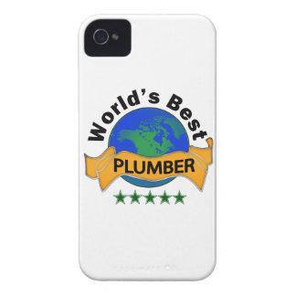 World's Best Plumber Case-Mate iPhone 4 Case