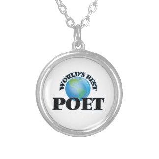 World's Best Poet Pendants