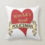 World's Best Polieman Pillows