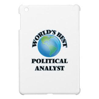 World's Best Political Analyst iPad Mini Case