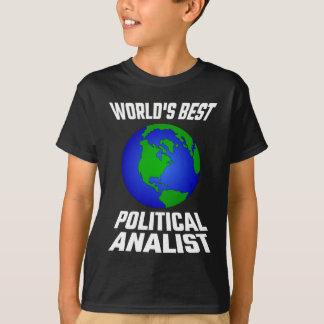 World's Best Political Analyst T-Shirt