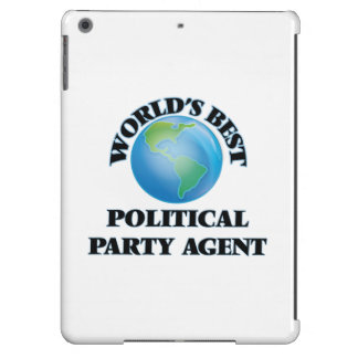 World's Best Political Party Agent iPad Air Cases