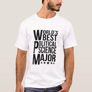 World's Best Political Science Major T-Shirt