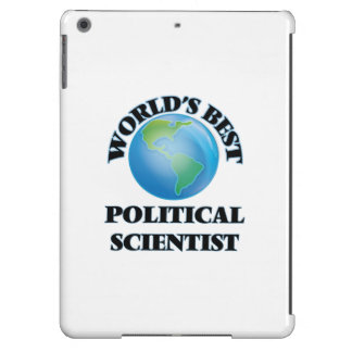 World's Best Political Scientist iPad Air Cases