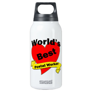 World's Best Postal Worker SIGG Thermo 0.3L Insulated Bottle