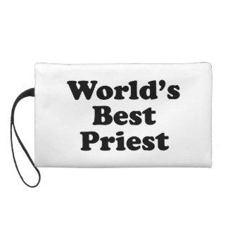World's Best Preist Wristlet Purse