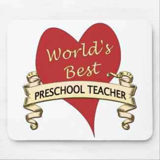 World's Best Preschool Teacher Mouse Pad