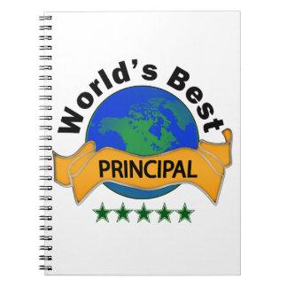 World's Best Principal Note Book
