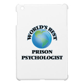 World's Best Prison Psychologist iPad Mini Covers