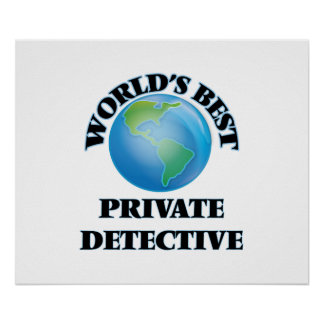World's Best Private Detective Poster