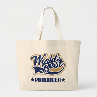 Worlds Best Producer Large Tote Bag