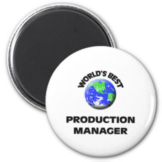 World's Best Production Manager Magnet