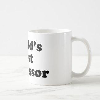World's Best Professor Coffee Mug
