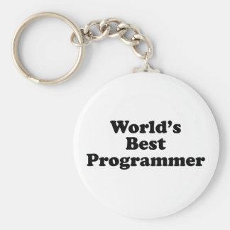 World's Best Programmer Key Chains