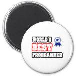 World's Best Programmer Magnet