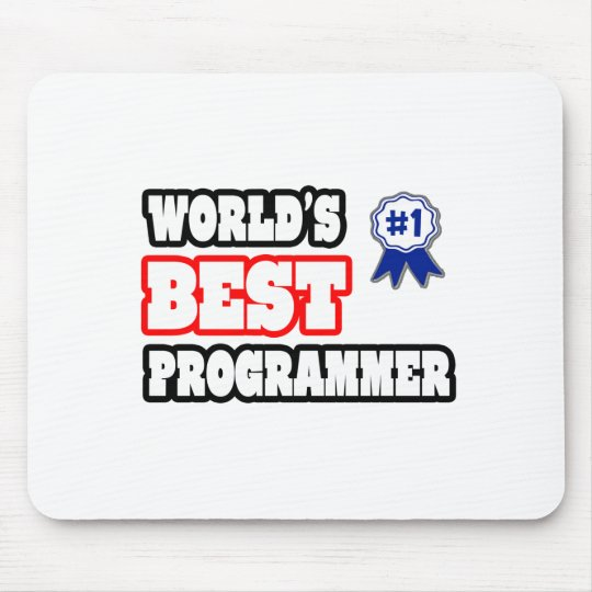 World's Best Programmer Mouse Pad