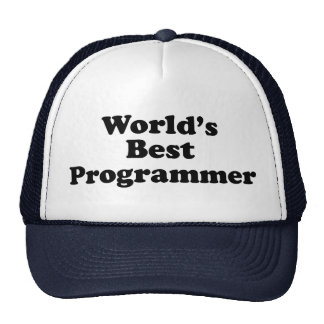 World's Best Programmer Trucker Hat