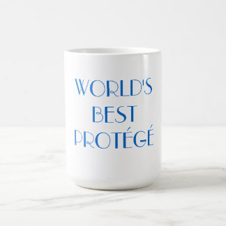 World's Best Protégé Coffee Mug