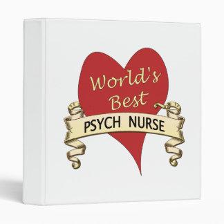 World's Best Psych Nurse Binder