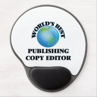 World's Best Publishing Copy Editor Gel Mousepad