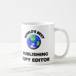 World's Best Publishing Copy Editor Coffee Mug