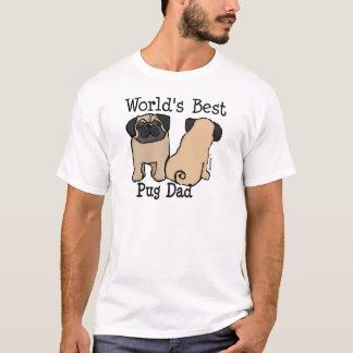 World's Best Pug Dad T-Shirt