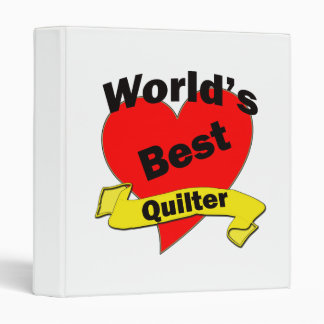 World's Best Quilter Binder