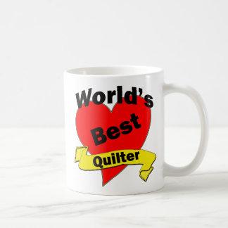 World's Best quilter Coffee Mug