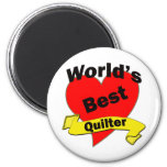 World's Best quilter Magnet