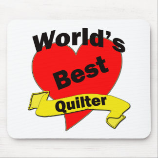 World's Best Quilter Mouse Pad