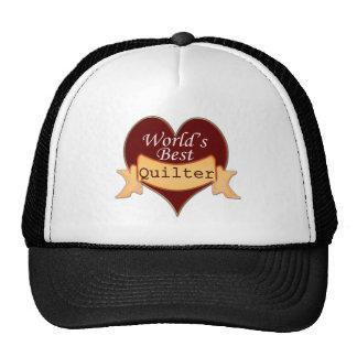 World's Best Quilter Trucker Hat