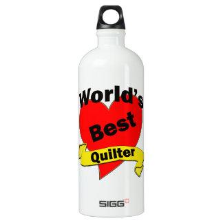 World's Best Quilter Water Bottle