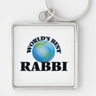 World's Best Rabbi Key Chains