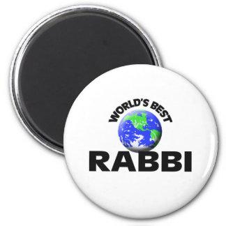 World's Best Rabbi Fridge Magnets